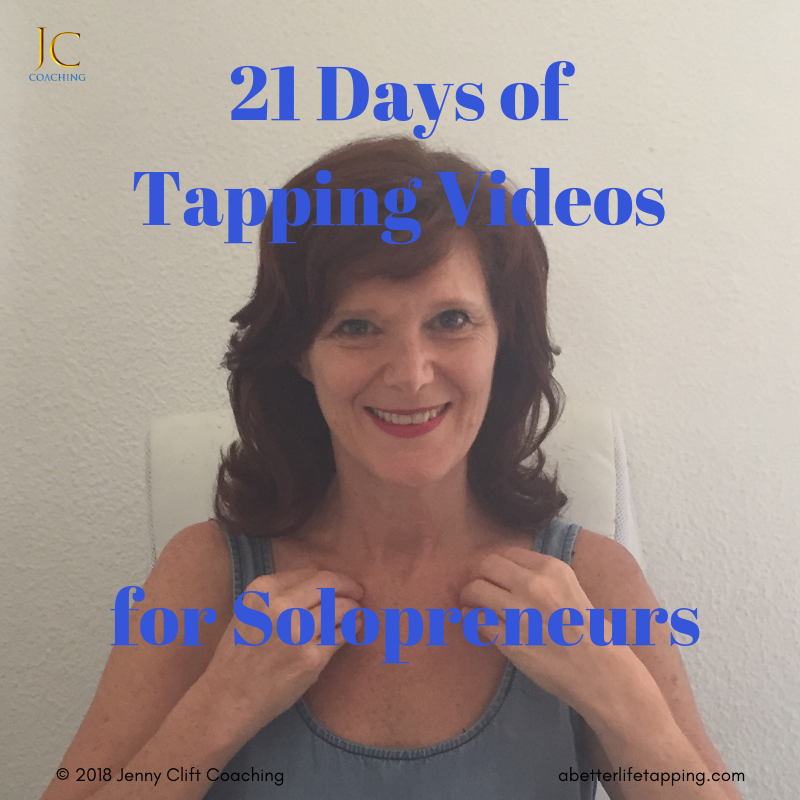 21 Days of Tapping Videos for Solopreneurs