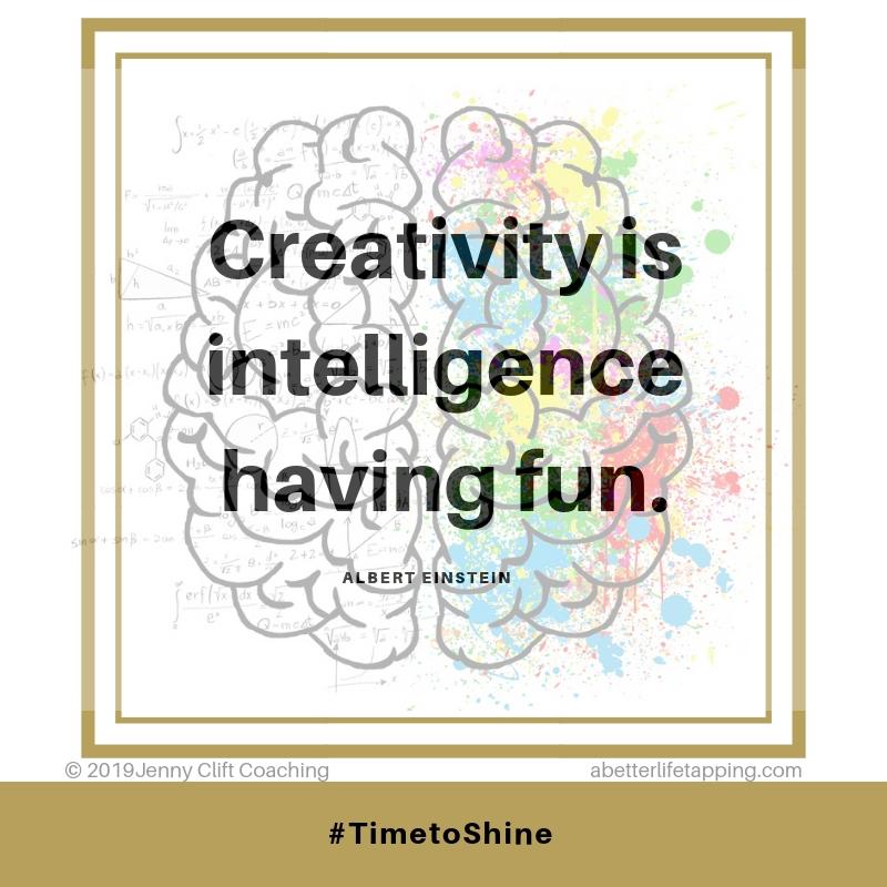 A Einstein, Creativity