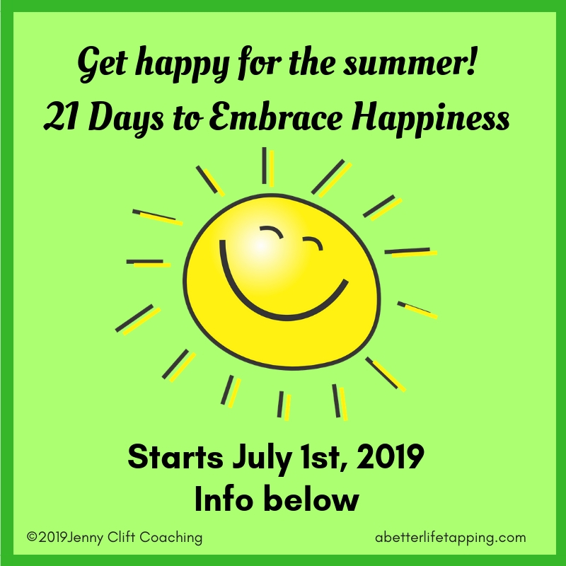Embrace Happiness July