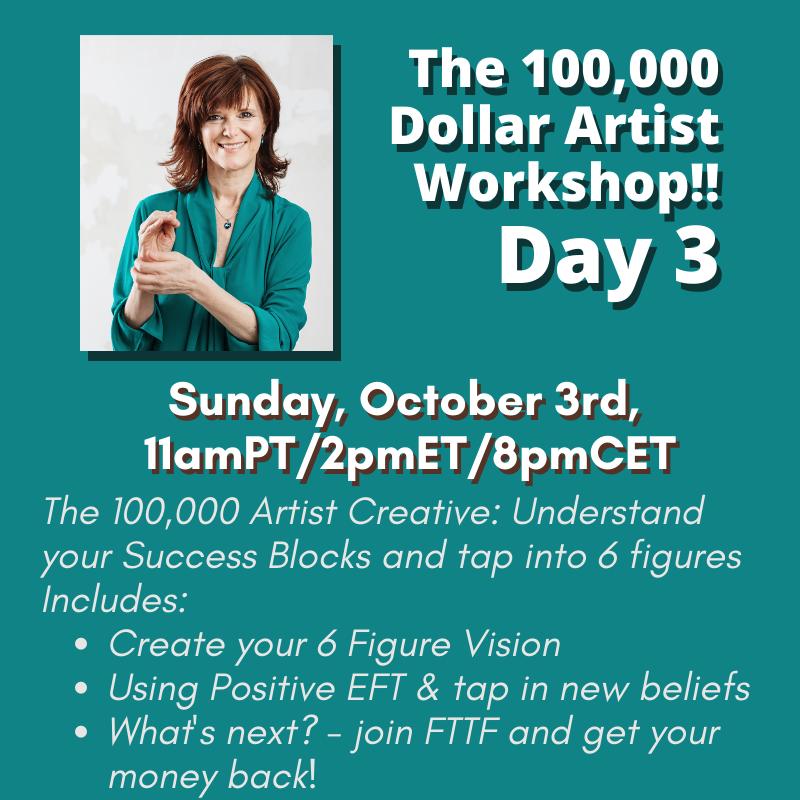 Day 3 100,000 Dollar Artist Workshop (2)